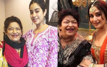 Saroj Khan's Daughter Sukaina Wishes To See Janhvi Kapoor As Sridevi In Late Choreographer's Biopic; Also Says, 'Would Be Really Disappointed If Madhuri Dixit Didn't Do The Film'