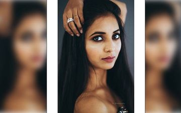 Sayali Sanjeev's Looks Hot In This Off Shoulder And Her Smoky Piercing Eyes