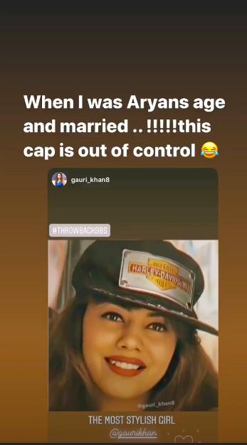 Gauri Khans Instagram story