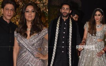 Armaan Jain - Anissa Malhotra Cocktail Party: Shah Rukh Khan With Wife Gauri,  Sonam Kapoor, Kiara Advani, And Others Mark Attendance