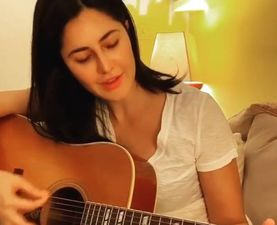 Coronavirus Outbreak: Katrina Kaif Picks Up A New Hobby When In Quarantine; Learns Guitar And Singing - VIDEO