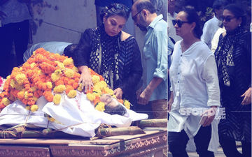Kalpana Lajmi Funeral: Heartbroken Shabana Azmi And Soni Razdan  Attend The Filmmaker's Last Rites