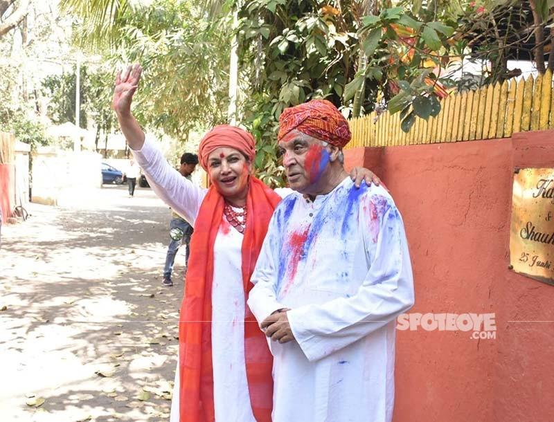 Shabana Azmi With Javed Akhtar