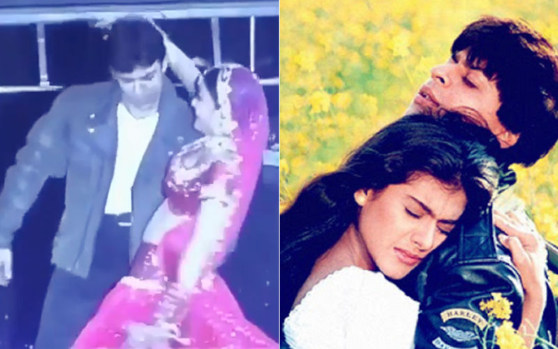 Throwback Video: Aishwarya Rai & Aamir Khan Groove To Shah Rukh Khan & Kajol's Tujhe Dekha Toh