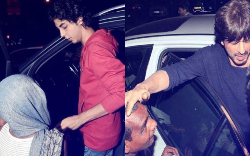 Aryan Khan's Generous Act; Shah Rukh Khan's Son Gives Money To A Beggar