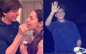 Shah Rukh Khan Celebrates 53RD Birthday With Gauri Khan, Kids & Fans