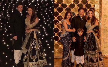 बॉलीवुड के किंग शाहरुख खान ने परिवार के साथ मनाया दिवाली का जश्न, देखिए तस्वीरें