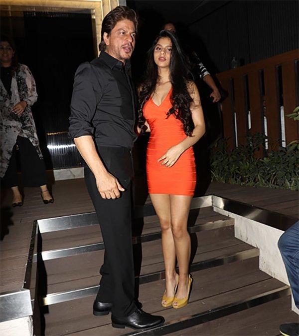 Shah Rukh Khan With Daughter Suhana Khan