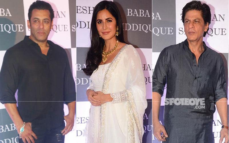 Baba Siddique Iftaar Party: Shah Rukh Khan, Salman Khan, Katrina Kaif Dazzle At The Grand Affair