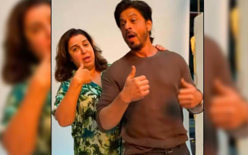 Shah Rukh Khan And Farah Khan Dance To The Iconic Song 'Main Hoon Na'; Fans Demand Sequel To The Movie -WATCH