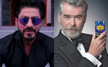 Shah Rukh Khan's Witty Take On Pierce Brosnan's Pan Bahar Ad