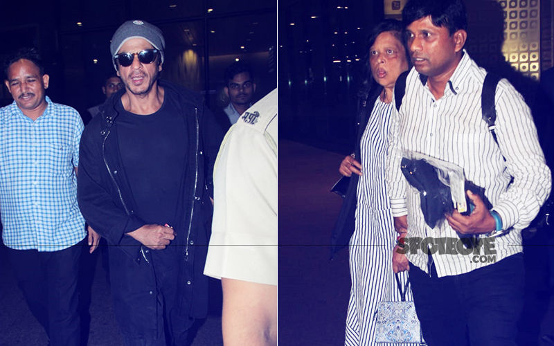 Shah Rukh Khan Returns To Mumbai With Sister Shehnaz After Europe Vacay