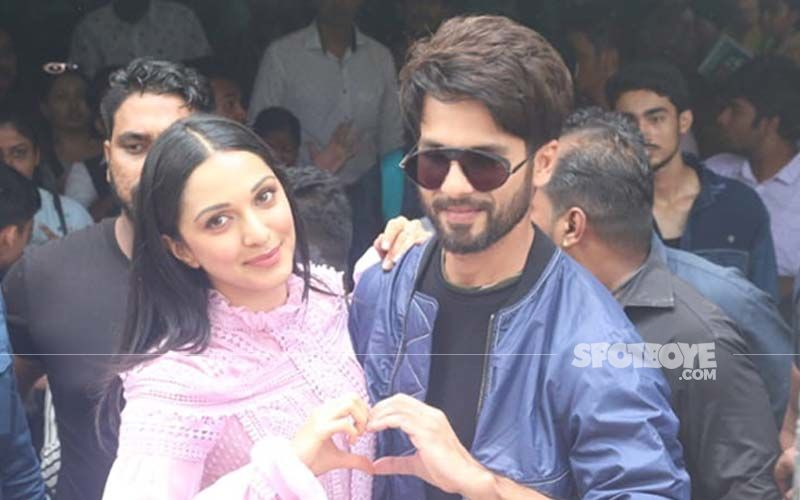 Shahid Kapoor And Kiara Advani Were Spotted At The Song Launch Of Kabir Singh