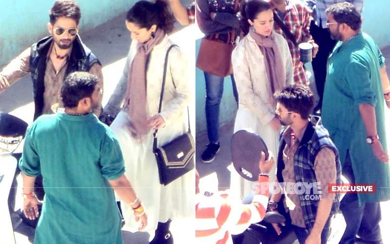 Pics: Shahid & Shraddha Kapoor's Candid Shots From The Sets Of Batti Gul Meter Chalu