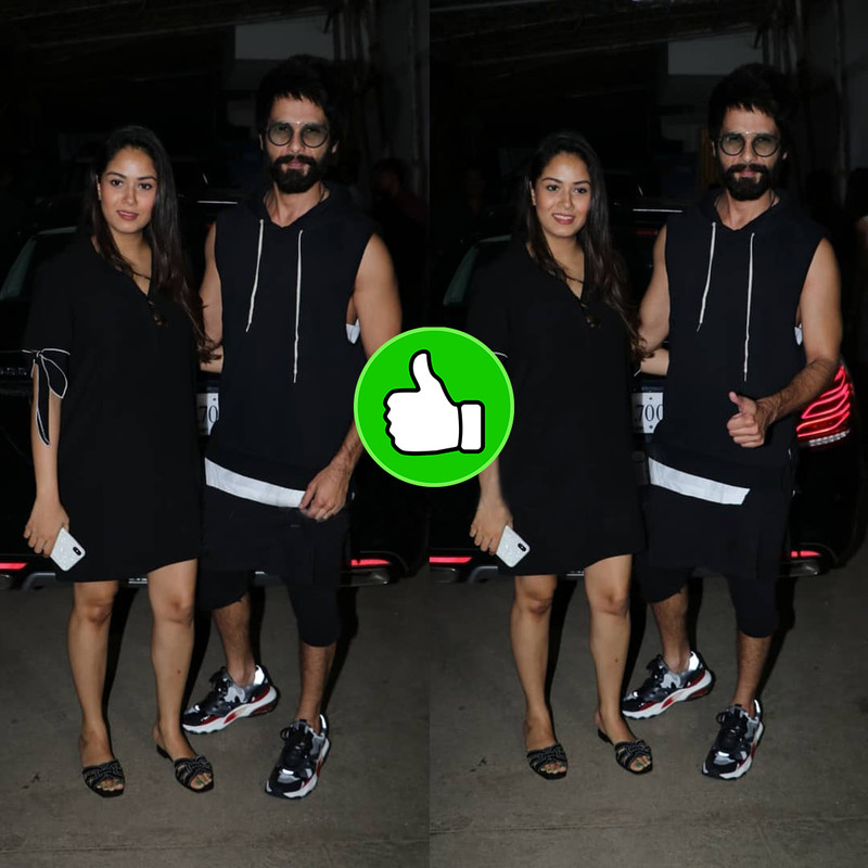 Shahid Mira Spotted At Movie Date Night