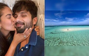 Shahid Kapoor Shares A Breathtaking Picture With His Kids Misha And Zain From His Maldives Vacay; Thanks Mira For 'Amazing Memory'-SEE Photo