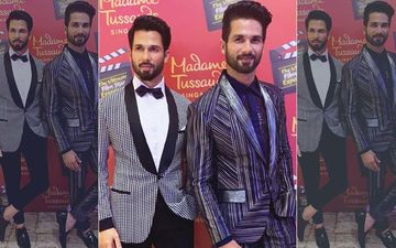 Shahid Kapoor Unveils His Madame Tussauds Wax Statue In Singapore