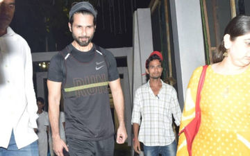 Jersey: Shahid Kapoor Is Neck Deep In Preparations To Play A Cricketer, We Have Picture Proof