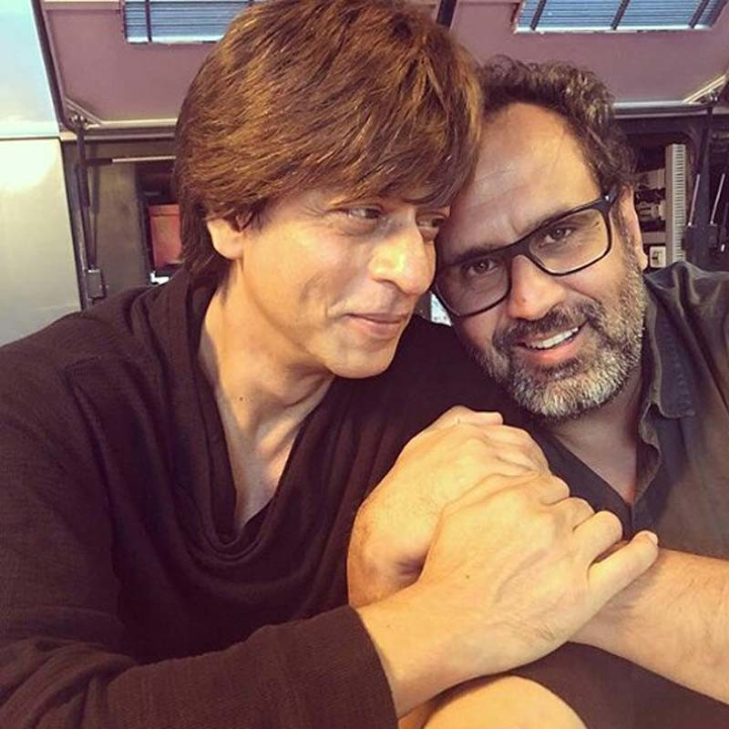 Shahrukh Khan And Aanand L Rai Shares A Light Moment