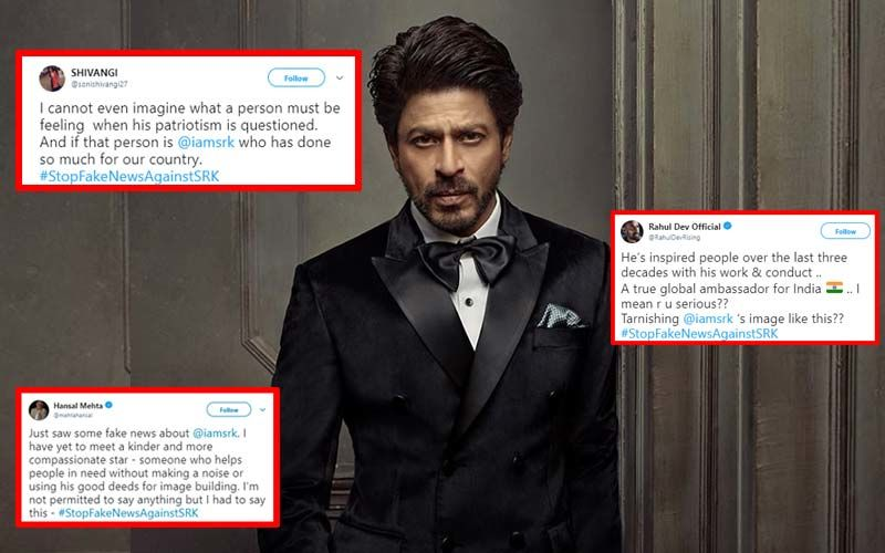 Shah Rukh Khan Accused Of Helping Pakistan Gas Attack Victims. Fans Shield Superstar, Initiate #StopFakeNewsAgainstSRK