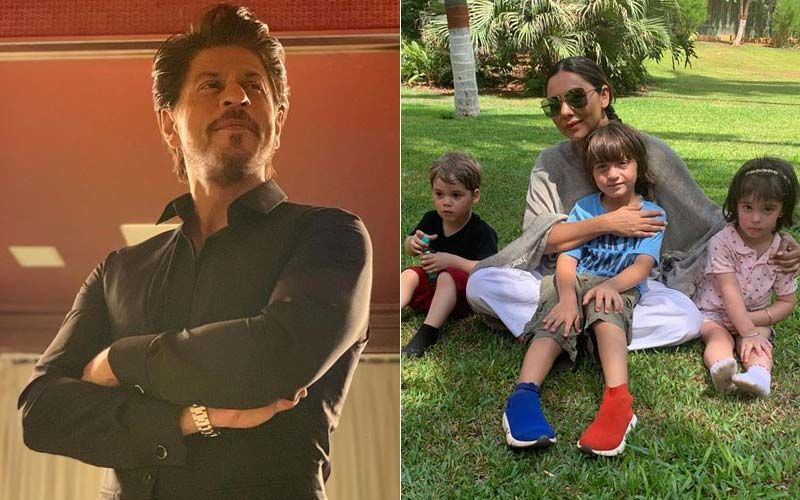 Shah Rukh Khan Has The Coolest Reply To Gauri Khan's Pic With The 3 Musketeers- AbRam, Yash, Roohi