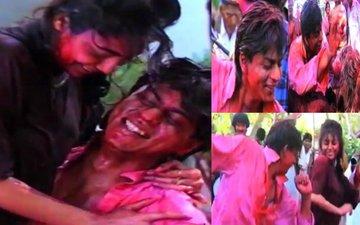 RARE VIDEO: 20 साल पहले शाहरुख़ खान और गौरी ने खेली ऐसी होली कि देखते रह गए फिल्म इंडस्ट्री के लोग