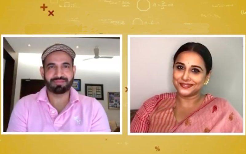 Shakuntala Devi AKA Vidya Balan All Set To Throw A Math Quiz To Cricketer Irfan Pathan On Show Cricket Connected