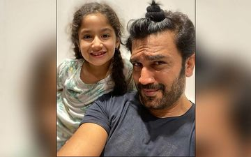 These Pictures Of Sharad Kelkar's Father-Daughter Moments Will Make You Go 'Aww'