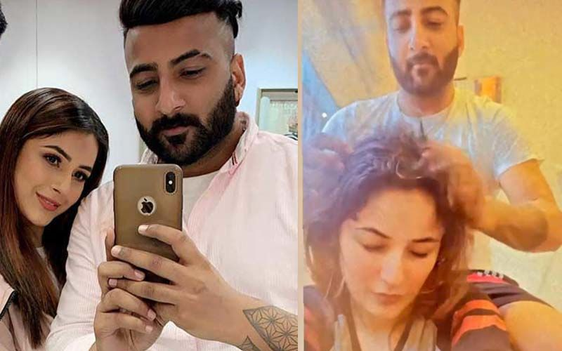 Shehnaaz Gill Gives Fans A Glimpse Into Her 'Champi' Session With Brother Shehbaz And It Is Every Sibling Duo Ever