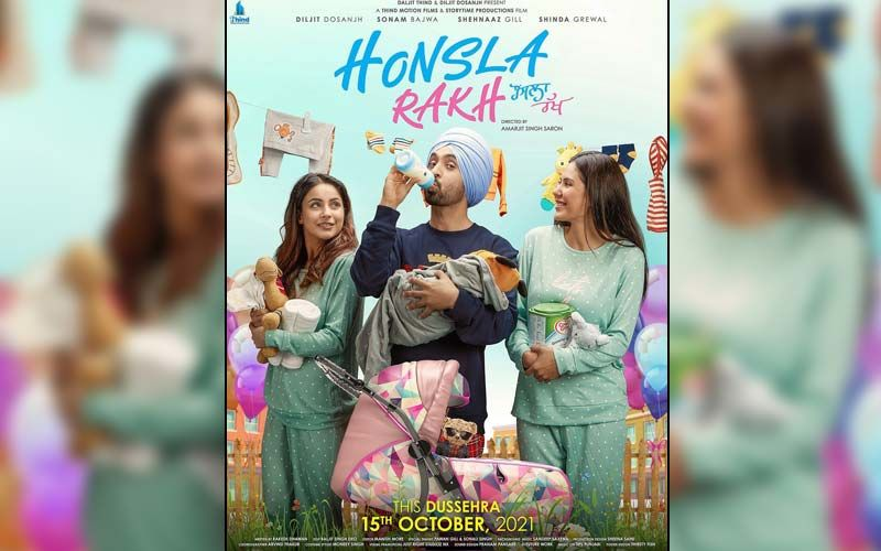 Honsla Rakh: Shehnaaz Gill, Diljit Dosanjh And Sonam Bajwa Starrer Trailer To Release On Monday; New Poster Will Leave You All Excited