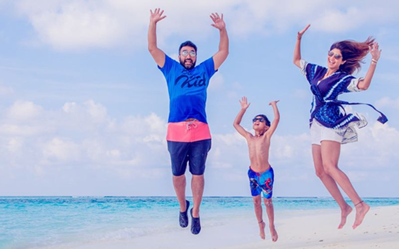 Shilpa Shetty Unwinds In Maldives To Beat The Heat In Mumbai