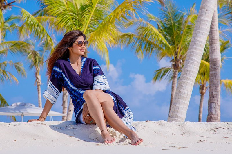 Shilpa Shetty In Maldives