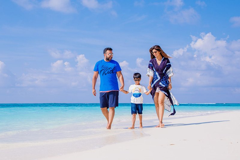 Shilpa Shetty In Maldives 1