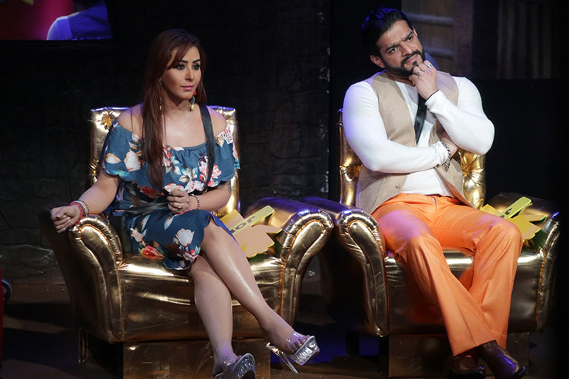Shilpa Shinde And Karan Patel As Moderators In Bigg Boss 12