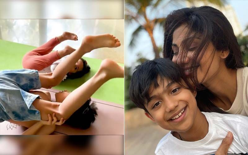 Shilpa Shetty Has The Perfect Monday Motivation Post; Actress Shares A Cute And Inspirational Video Of Her Children Practising Yoga
