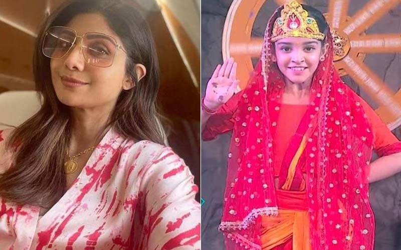 Super Dancer Chapter 4: Shilpa Shetty Touches Arshiya's Feet And Performs Kanjak Pooja