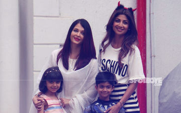 Aishwarya Rai Takes Aaradhya For Shilpa Shetty's Son Viaan's Birthday Bash
