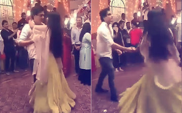 Videos: Shivangi Joshi & Mohsin Khan Celebrate 2700 Episodes Of Yeh Rishta Kya Kehlata Hai With A Dance