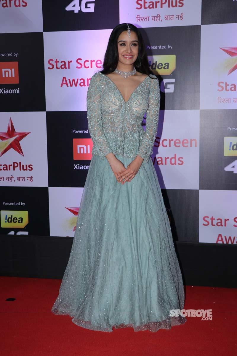 Shraddha Kapoor At Star Screen Awards 2018
