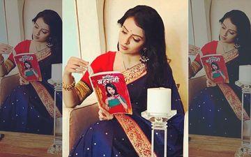 Janhvi Mittal Of Ek Bhram- Sarvagun Sampanna Is Reading Kaatil Bahuraani For More Tricks!