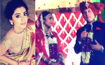 Watch: Shriya Saran's Husband Recites A Romantic Poem For Her