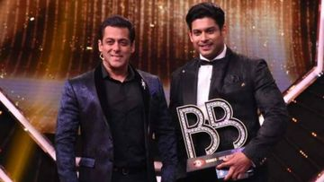 When Bigg Boss 13 Winner Sidharth Shukla Accepted An Award On Behalf Of Salman Khan, 'Will Give It Him Personally' - VIDEO