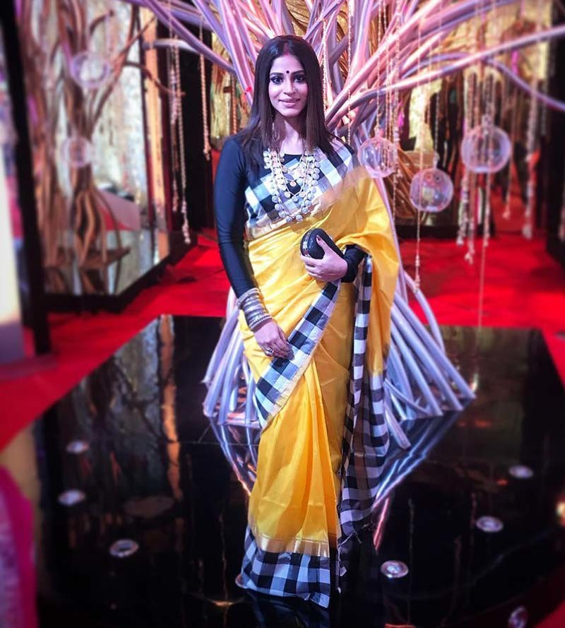 Shweta Mhadik Looks Stunning In Yellow