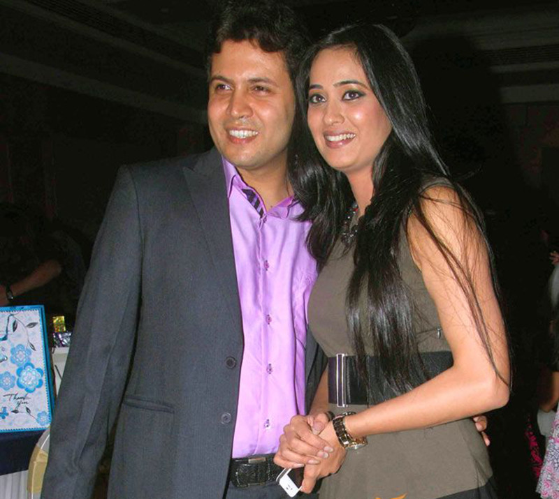 Sweta Tiwari With Husband Abhinav Kholi