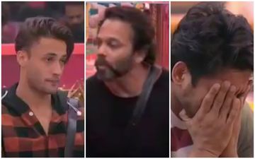 Bigg Boss 13: Rohit Shetty Stops Asim Riaz From Arguing As Sidharth Shukla Cries Like A Baby - Video