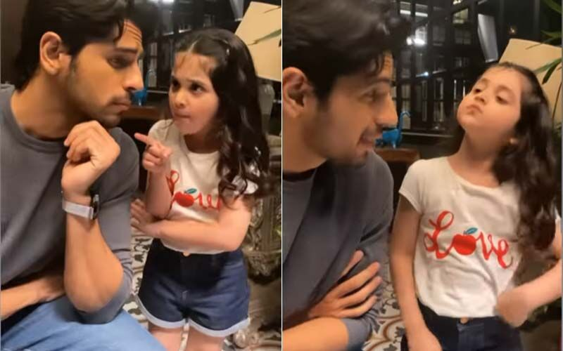 Sidharth Malhotra's Shershaah Reel With This 'Little Kiara As Dimple' Is The Cutest Video On Internet Today-WATCH