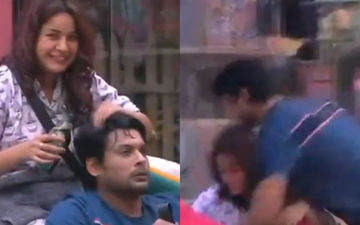 Bigg Boss 13: Sidharth Shukla Wraps His Legs Around Shehnaaz Gill, Pounces On Her And Kisses Her - Video