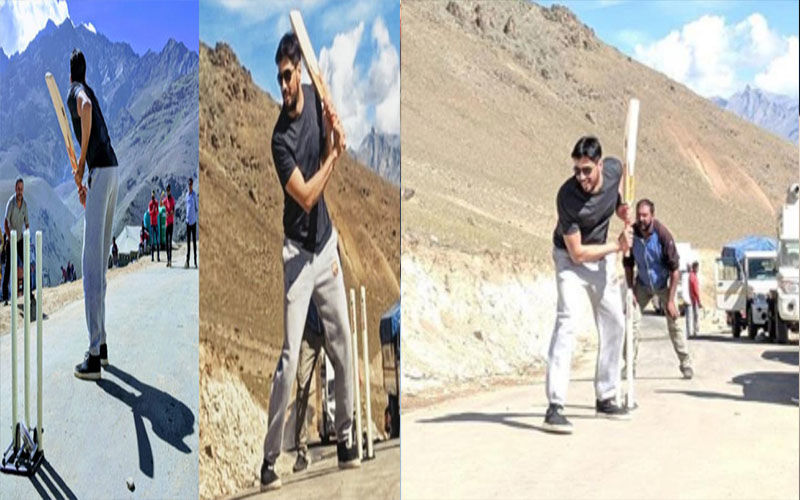 Sidharth Malhotra Starrer Shershaah Shooting Is All About Their Fun Break And Some Cricket In Ladakh