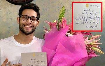 Gully Boy's Siddhant Chaturvedi Aka MC Sher Receives Handwritten Note From Amitabh Bachchan