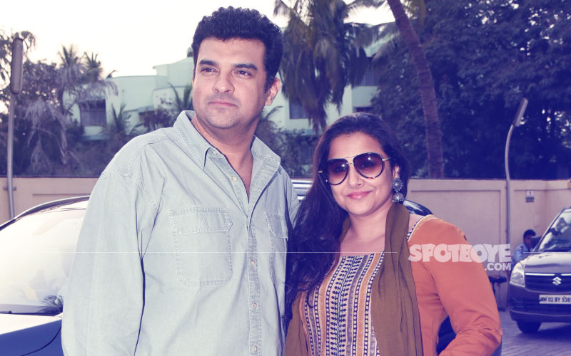 Siddharth Roy Kapur & Vidya Balan Enjoy A Movie Date